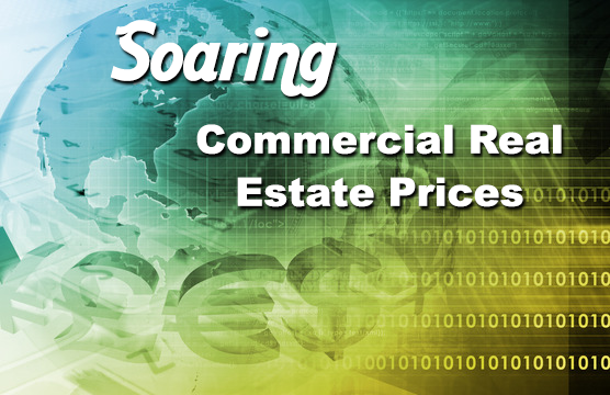 Soaring demand for commercial real estate
