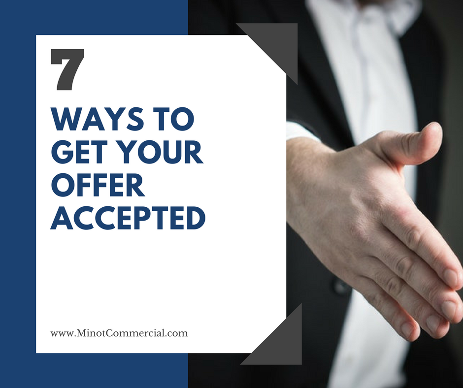 Secrets to getting commercial offers accepted