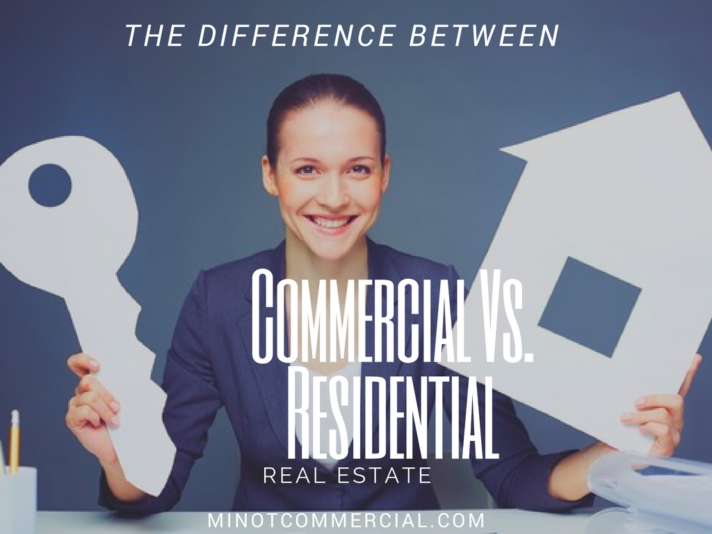 Differences between a Residential and Commercial Realtor
